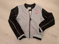 Girls Cotton bomber jacket Size 12-14yrs height 152-158cm