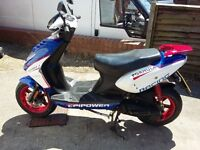 One owner CPI Formula R Moped 2015, very good condition