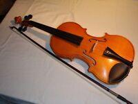 Violin three quarter