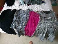 Maternity clothing size 10-12 bundle