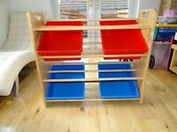 Wooden Toy/Book Storage Unit