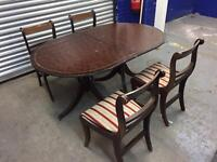 Vintage Table and chairs, Free delivery