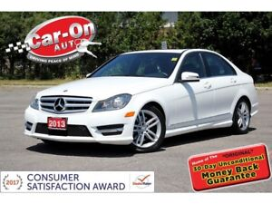2013 Mercedes-Benz C-Class C 300 4MATIC ONLY 61,000 KM LEATHER S