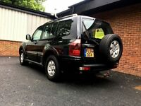 Mitsubishi Shogun 3.2 DI-D Field 5d | 1 Year MOT | Leather | 7 Seater