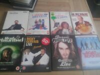 58 dvds mixture horror,action, comedy and tv sets