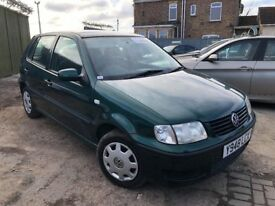 Volkswagen Polo 1.4 E 5dr£1,995 p/x welcome 6 MONTH FREE WARRANTY. NEW MOT