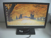 Computer Screen, LCD Monitor, 19 Inch Widescreen, Includes Cables, Free Delivery, With Warranty