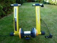 Minoura Hypermag-1200 Home Trainer. Little used....very good condition.