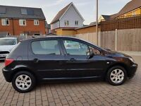PEUGEOT 307 AUTOMATIC 1.6 PETROL ALLOY AC CD MOT not Peugeot 206 automatic 406 car ford polo clio