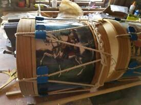 Kids lambeg drum and sticks