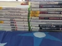 Xbox 360 and 23 games
