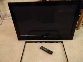 "42"" LG Plasma TV with wall mount"
