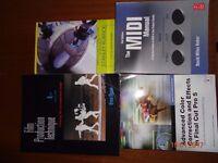 4 books for Media Studies at university.
