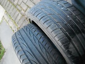 TYRES 205 X 40 X 17 TYRES , HAVE TWO , BOTH GREAT TREAD ,ONE A FALKEN, 1 IS A SEMPERIT ,TAKEN OFF