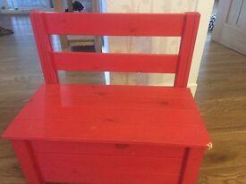 Kids bench/ toy box