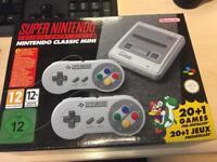 !! New !! Super Nintendo Classic Mini