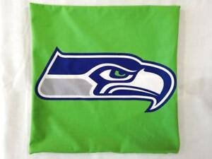 Seattle Seahawks 12th Man Deluxe Logo Style Decorative Cushion Cover Without Insert (New)