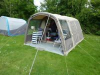 VANGO LUXURY TENT PACKAGE. SOLACE 400 AIRBEAM 4 BERTH INC. EXTRA AWNING,