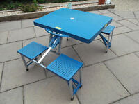 Kids picnic table and seats