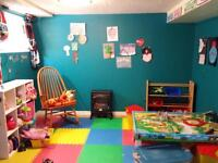 East Bridge st licensed daycare 24 mnth-36 mnths P/T end Oct.