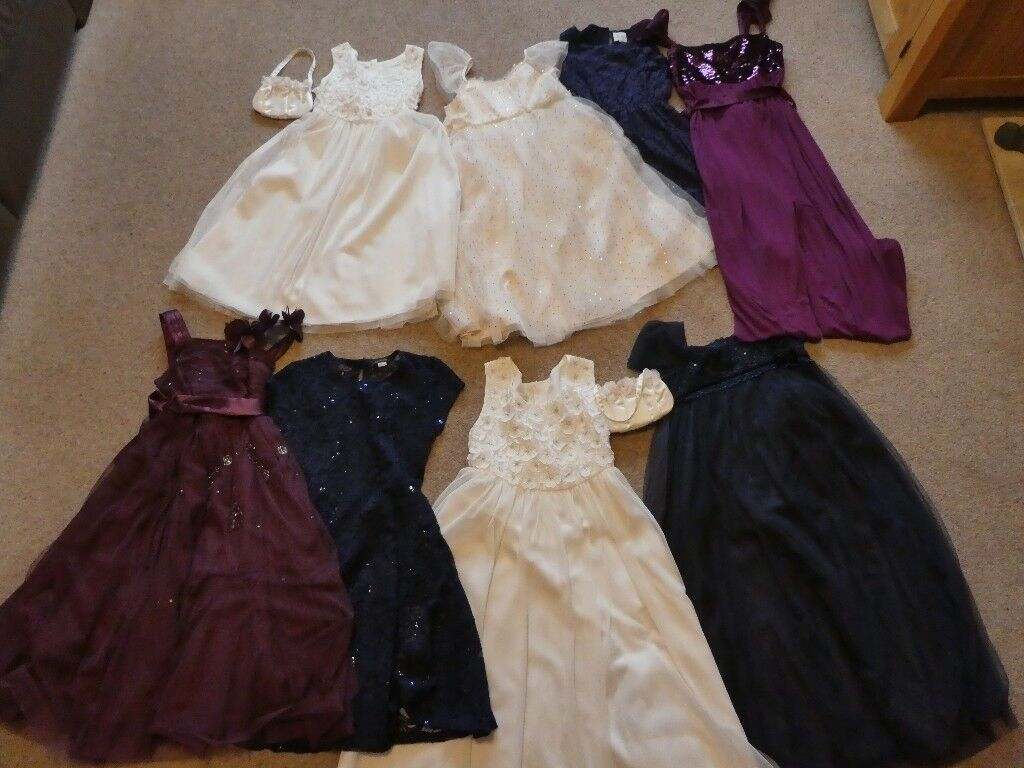 8 Stunning Bridesmaid/Flower Girl/Special Occasion Dresses Monsoon/Next Signature and Yumi