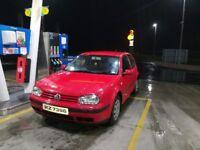 VW golf 2002 1.4 petrol