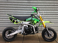 NEW SEMI AUTO PIT BIKE DIRT MONSTER 90cc PIT BIKE