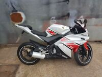2013 YAMAHA YZF125 50TH ANNIVERSARY LIMITED EDITION - LOW MILEAGE