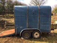 Rice Horse Box Trailer - Possible Catering Conversion