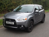 2012 Mitsubishi ASX 3 Cleartec 1.6 5dr - Long MOT and 4 almost new tyres