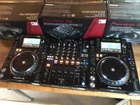 WANTED - PIONEER CDJ 2000 NXS2 DECKS + DJM 900 NXS2 MIXERS