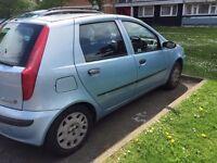 Fiat PUNTO 2001; low mileage