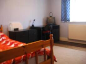 Large double room in shared flat for short-term let