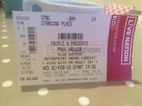 Paul Weller tickets Cardiff