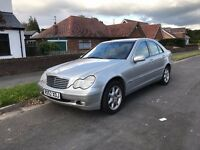 Mercedes C240 2002 only 67000 miles, very clean car, 12 months MOT, low price for quick sale.