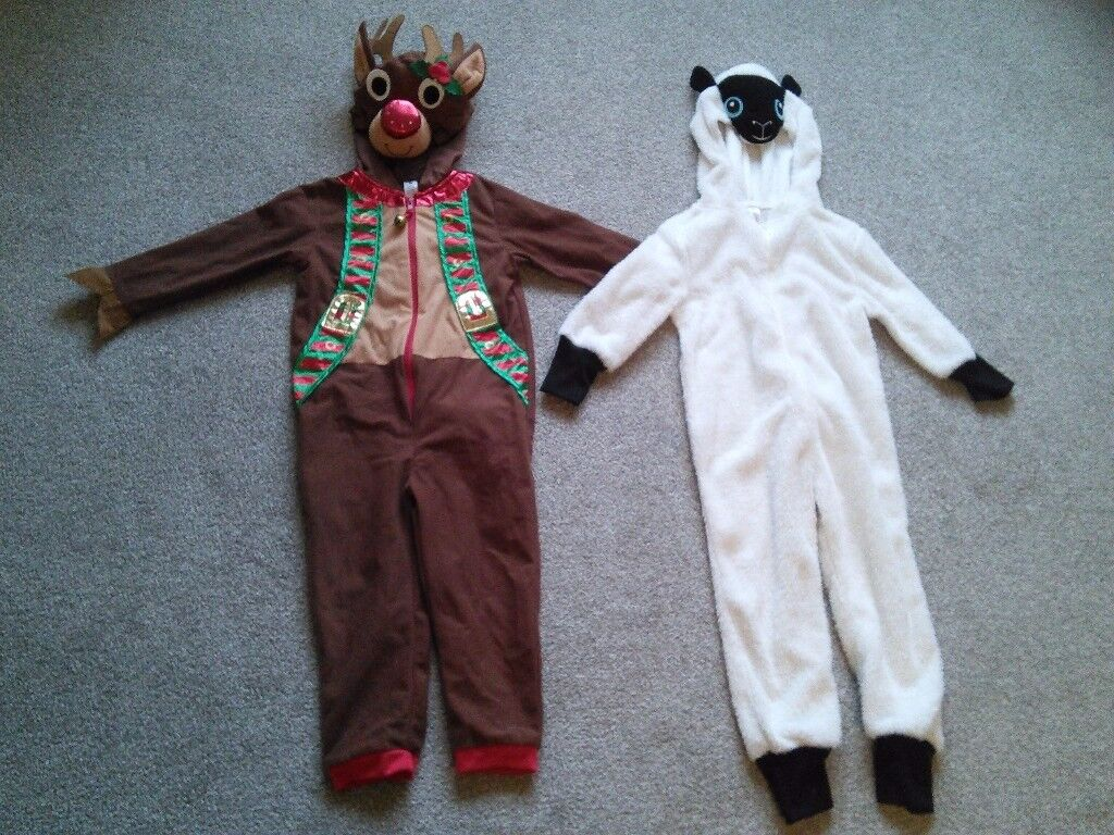 Rudolph and sheep dressing up costumes - 5 to 6 years