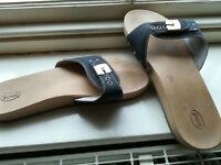Scholl clog sandals