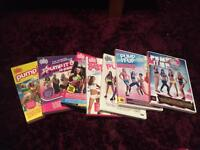 7 Pump It Up Aerobic Exercise DVD set