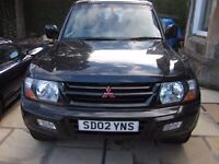 Mitsubishi Shogun 3.2 DiD Animal Diesel LWB 7 Seat