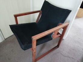 Canvas Backed Chair