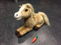 "ANIMAGIC HONEY LGE 16"" ELECTRONIC HORSE INTERACTIVE PONY NEIGHS, MOVES & BLINKS"