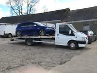 Recovery services and car transportation