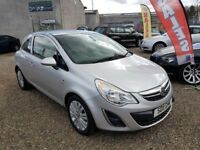 2011 Vauxhall Corsa 1.2 i 16v Excite 3drFinance Available Hpi Clear 3 Month RAC Warranty Included