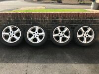 "Vauxhall Astra h 17"" alloy wheels"