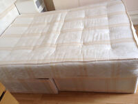 Double bed matress with divans