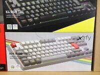 Retro Xtrfy K4 RGB TKL Compact Mechanical Gaming Keyboard