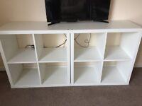 Bookshelves (2) Kallax
