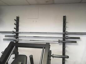 New Olympic 7ft,6ft and 5ft bars