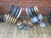 Weights and storage rack 140kg +