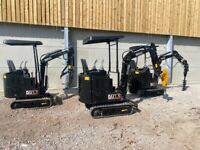 Mini digger brand new 2021 UK DAX 1 year parts & Labour warranty